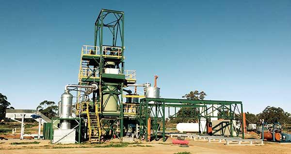 recycling plant in Warren