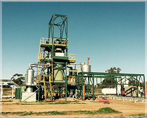 GDT recycling plant