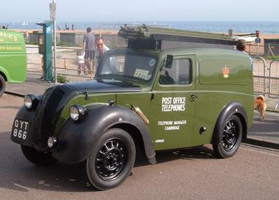 1944 MORRIS Z Series G.P.O. telephone lineman's van