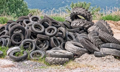 old tyres in Toowoomba