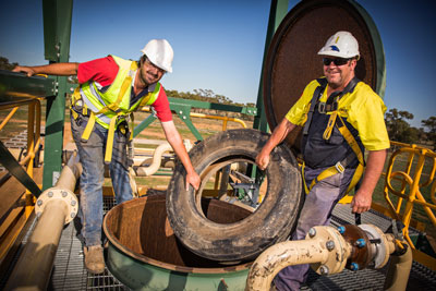 GDT recycling tyres