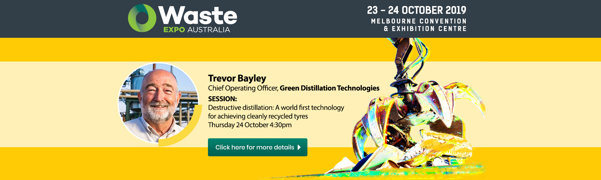 gdtc waste expo melbourne 2019
