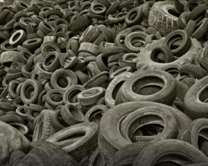 old tyres in Australia