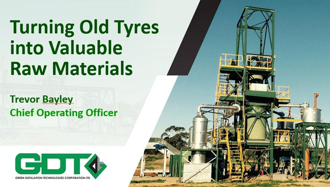 turning tyres into valuable raw materials