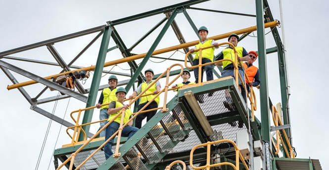 GDT recycling plant visit