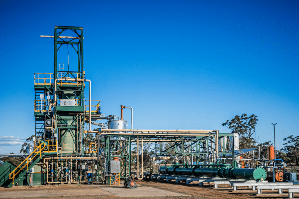 GDT Warren tyre recycling plant in Western New South Wales